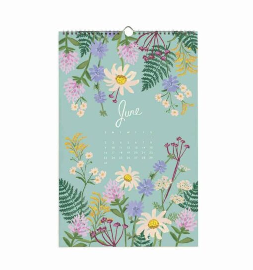 Calendrier Rifle Paper Co Wildwood 2019