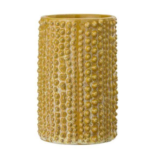 Vase Bloomingville moutarde