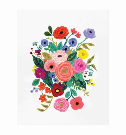 Affiche Rifle Paper Co Juliet Rose / 2 formats au choix