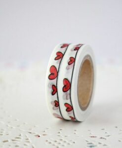 Masking tape Coeur graphique