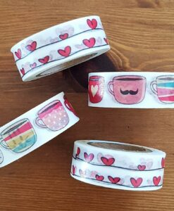 Masking tape Tasses