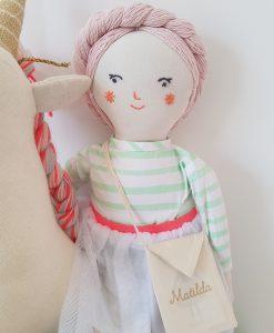 Poupée en tissu Matilda Meri Meri