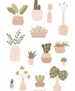 Affiche Jardin Secret Minimel