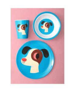 Assiette chien OMM Design / Ingela P Arrehnius