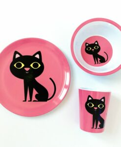 Assiette Chat OMM Design / Ingela P Arrehnius