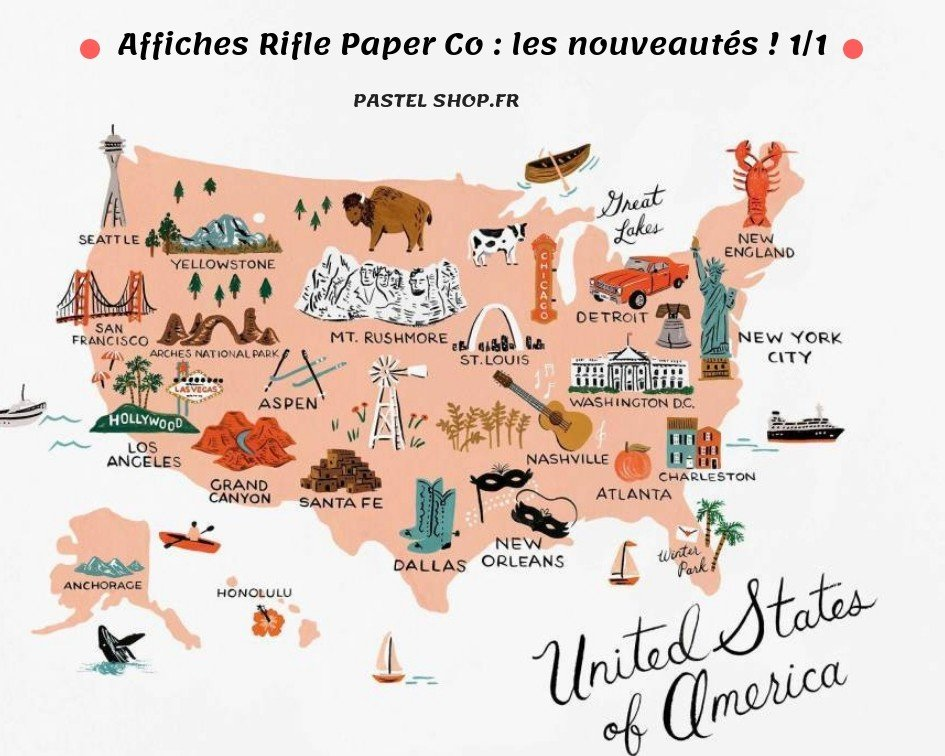 Affiches Rifle Paper Co