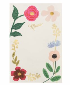 Bloc-notes Rifle Paper Co Fleurs sauvages