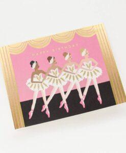 Carte Rifle Paper Co birthday ballet