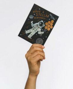 Carte anniversaire Cosmonaute Rifle Paper Co