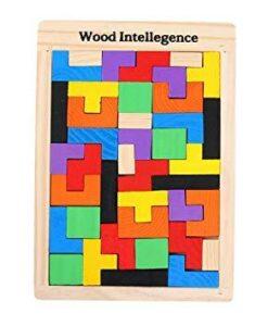 Casse-tête Tangram en bois Puzzle