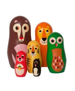 Set de Matryoshkas Ingela Arrhenius / OMM Design Animals 1