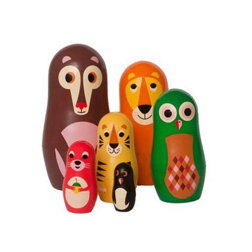 Matryoshkas Ingela Arrhenius / OMM Design Animals 1