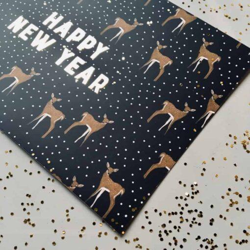 Carte Bonne année Minimel