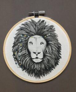 Cadre Minimel Lion