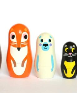 Set de Matryoshkas Ingela Arrhenius / OMM Design Animals 2