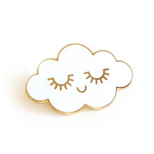 Pin's nuage blanc ZÜ