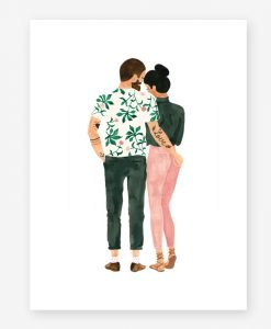 Affiche Hipsters lovers All the Ways to Say