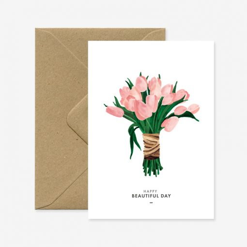 Carte Beautiful Tulips All the Ways to Say