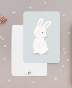 Carte lapin ZÜ Be kind