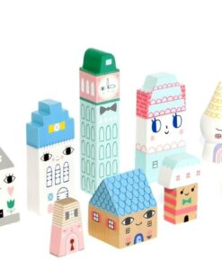 Figurines maison en bois Suzy's city
