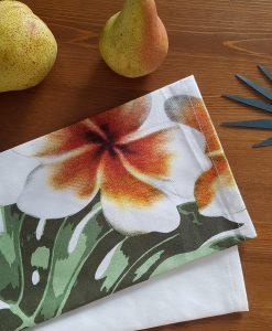 Torchon Fleur de tiare Bloomingville