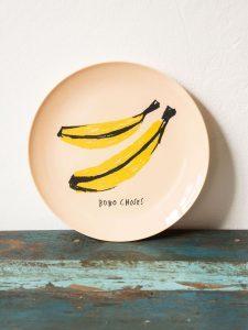 Assiette banane Bobo Choses