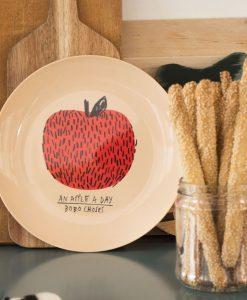 Assiette Pomme Bobo Choses