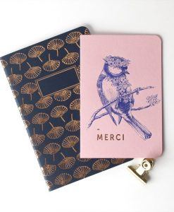 Carte Merci Flower Power Les Editions du Paon rose
