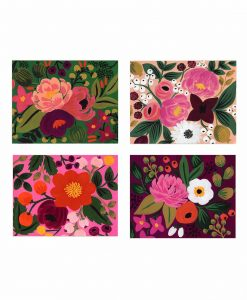 Set de cartes Rifle Paper Co Vintage blossoms x8