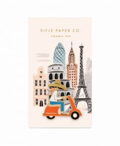 Pin's Rifle Paper Co Scooter girl