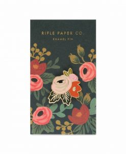 Pin's Rifle Paper Co Rosa
