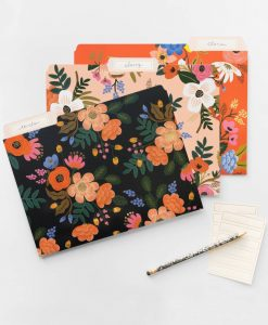 Pochette Rifle Paper Co Lively floral Lot de 6
