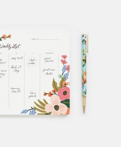 Stylo Lively floral Rifle Paper Co mine rechargeable