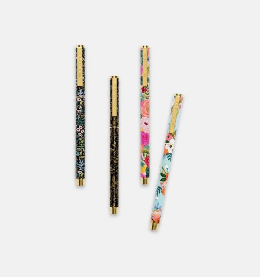 Stylo Juliet rose Rifle Paper Co mine rechargeable