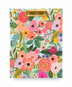 Bloc-notes Clipfolio Rifle Paper Co Garden Party