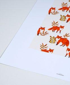 Affiche Season Paper Renards