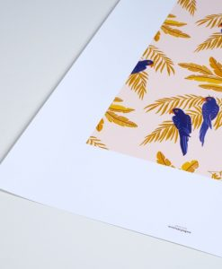 Affiche Season Paper Perroquets