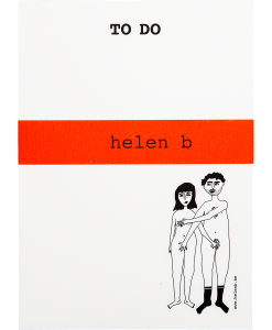 Bloc-notes Naked couple Helen B