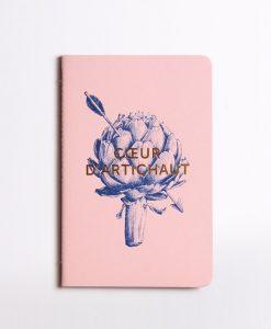 Carnet Coeur d'artichaut Editions du Paon