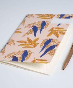 Carnet Perroquet Season Paper