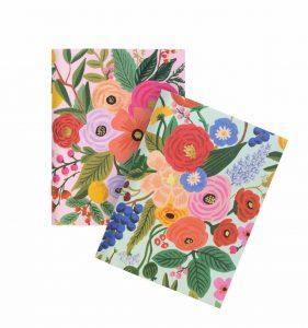 carnet riflepaper fleuri