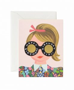 Carte anniversaire Rifle Paper Co Meadow Birthday girl