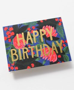 Carte Anniversaire Floral Foil Rifle Paper Co