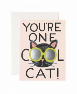Carte Cool cat Rifle Paper Co