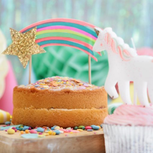 Décoration de gâteau étoile filante Meri Meri