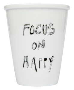 Mug Focus on Happy HELEN B