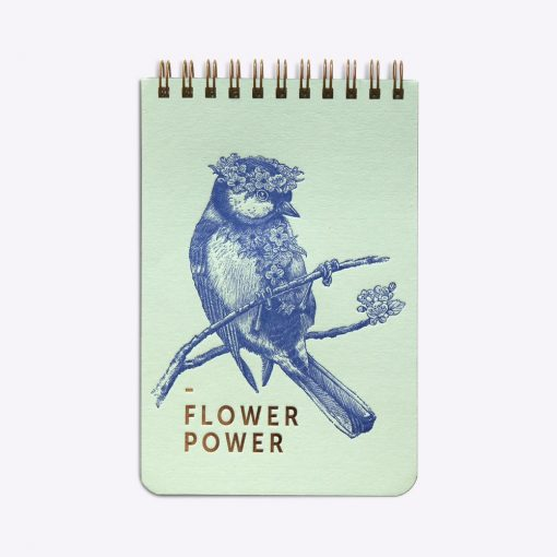 Bloc-notes Flower Power Les Editions du Paon