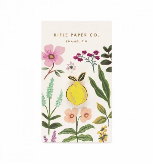 Pin's Citron Rifle Paper Co