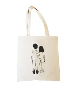 Tote-bag Naked couple HELEN B