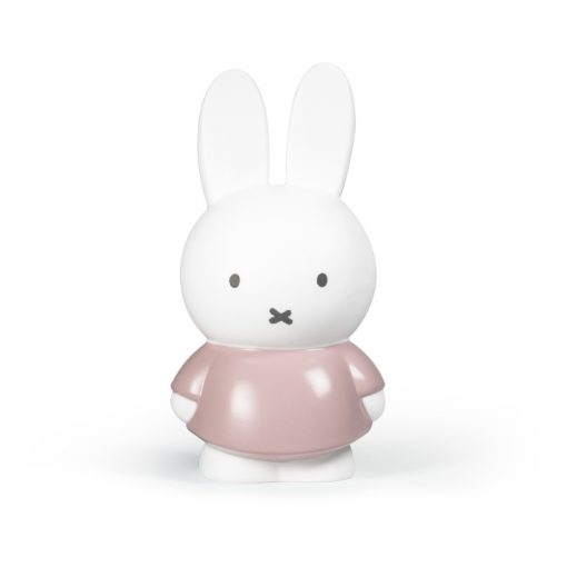 Tirelire Miffy rose Atelier Pierre Taille M